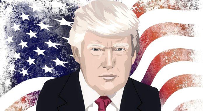 Donald Trump, président sortant vainqueur du dernier débat électoral.