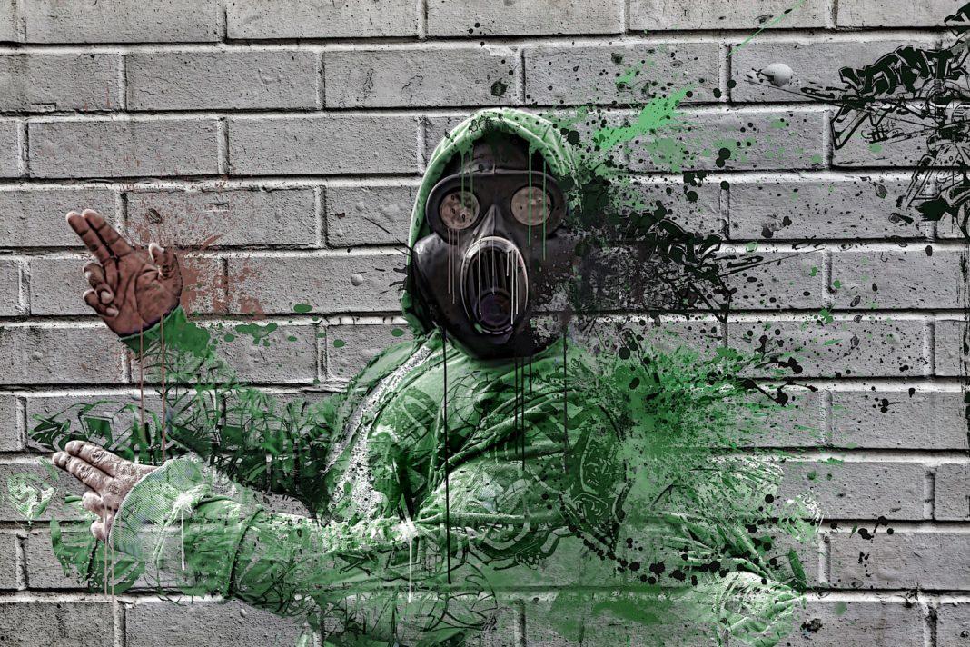 Attaque chimique