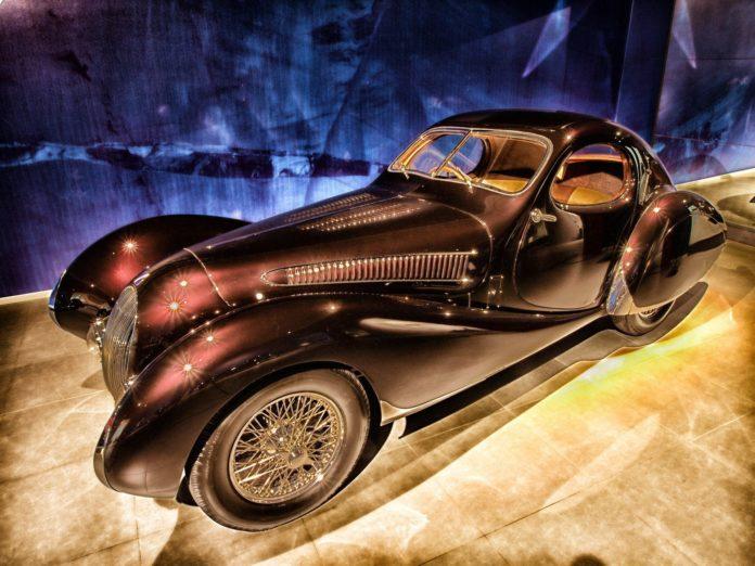 une Talbot 1937 qui aurait pu prendre le départ au GP de Bruxelles de 1946