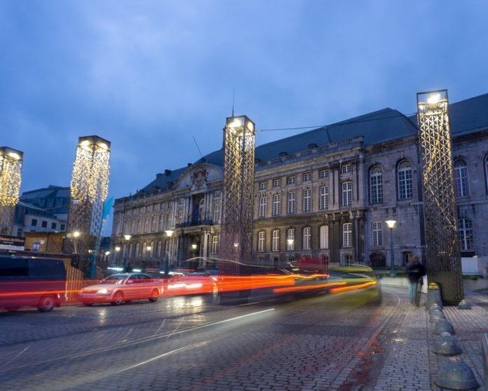 Liège et son Palais de Justice