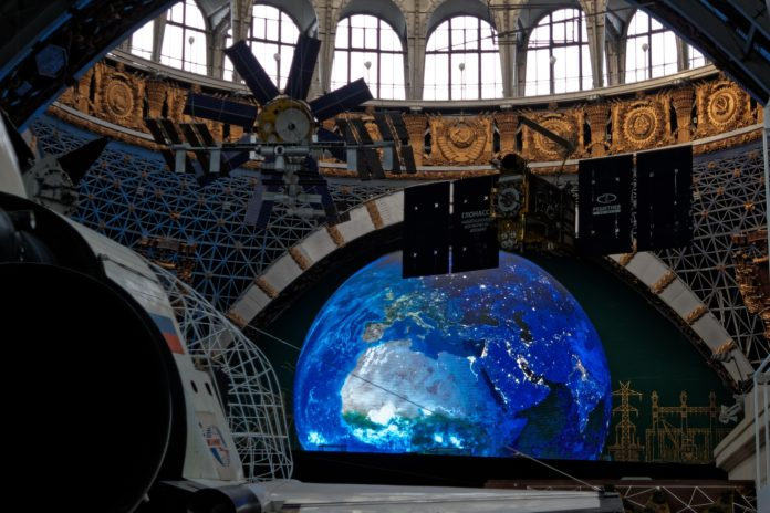 Moscou, musée du cosmos